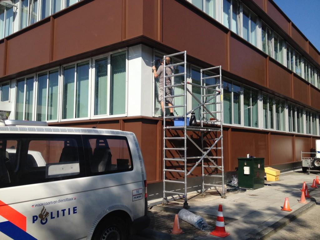 projectonderhoud raamfolie zonwering